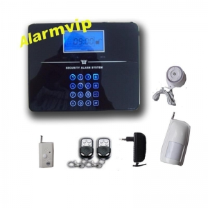 China Touch screen LCD GSM alarm system with voice prompt on sale