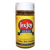 Spices Texjoy - duBeaumont Saltless Herb Seasoning; salt-free herbs du provence spice seasoning