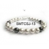 China White Pearl Magnetic Bracelet for sale