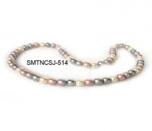China Magnetic Pearl Necklaces on sale