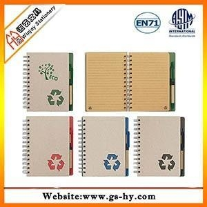 China Spiral notebook with pen(HY-N001) on sale