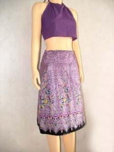 China Skirts lai thai wrap skirt [short][skirtltws] on sale