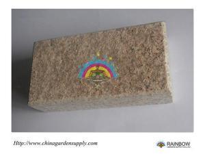 China Cube Stone G682 Padang Gelb Yellow Granite Brick Paver on sale