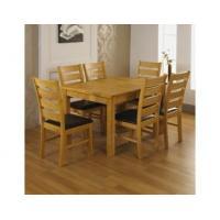 Chance Oak Extending Table + Chair Options