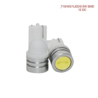 T10 1w high power led car light 24v