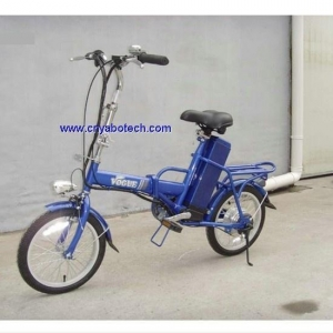 China 24V lead-acid electric folding bicycle on sale