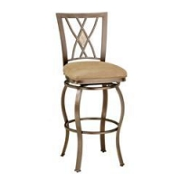TOP SELLERS Brookside Diamond Fossil Back Swivel Counter Stool