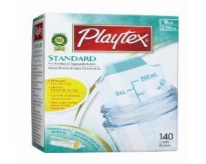 China Playtex BPA Free Disposable Nurser Liners 8 oz 140 Count on sale