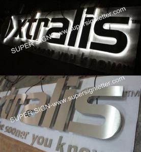 China Halo LED letter sign on sale