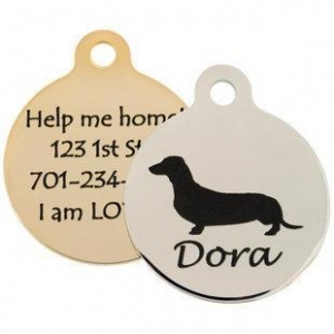 China dogIDs Signature Dog Breed ID Tags on sale