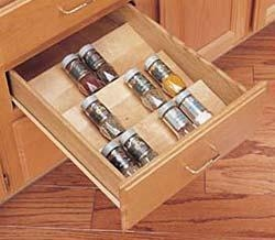China Wood Spice drawer insert on sale
