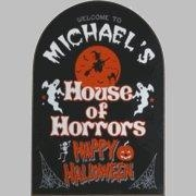 China CUSTOM AND NOVELTY SIGNS HALLOWEEN on sale