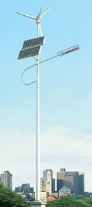 China Neysa LED Wind and Solar Streetlight on sale