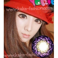 Yoki-eye Strawberry/20.8mm/7 colors/50pairs/lot/color contact lenses