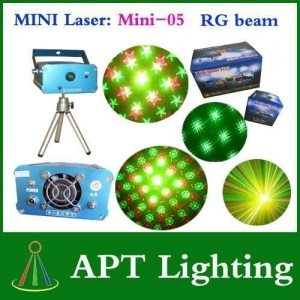 China Mini-05 RG Mini twinking Laser lighting for party & clubs & Disco DJ Party on sale