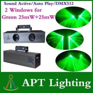China APT Lighting double Windows Green beam stage DJ Disco laser lighting on sale