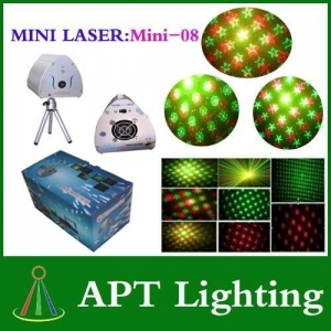 China Mini-08 RG Mini Laser stage lighting for party & clubs & Disco DJ Party on sale