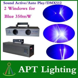 China Blue double Windows stage Beam DJ Disco laser lighting on sale