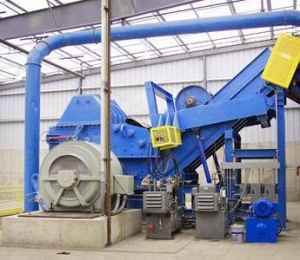 China PS-1600 Large Steel Scrap Crusher on sale