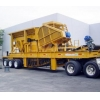 China Wheeled mobile crusher series for sale