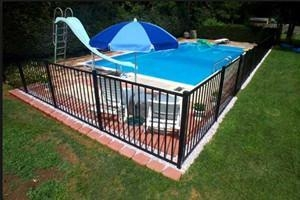 China Wire mesh Swimming Pool Fence on sale