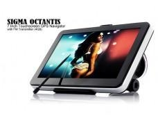 China Sigma Octantis - 7 Inch Touchscreen GPS Navigator with FM Transmitter (4GB) on sale