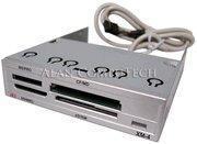 China Atech Silver 3.5 Multi Flash Card Reader Writer XM-4U on sale