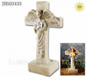 China solar light Product NameSolar Angel w Cross on sale
