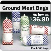 China Ground Meat Bags - Meat Bags In Stock on sale