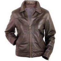 China Womens Charlotte Leather Jacket on sale