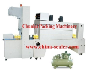 China ST-6030 Semi-automatic Sleeve Wrapper & Shrink tunnel on sale