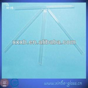 China borosilicate glass tube 3.3 borosilicate pyrex clear glass pipe on sale