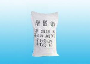 China Chemical raw material Sodium acetate trihydrate on sale