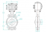 691D-Butterfly Valves with Soft Back Seat