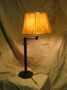 China Iron Table Lamp-Swing Arm Table Lamp on sale