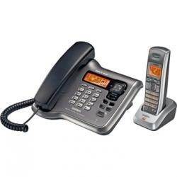 China Uniden DECT2088 DECT 6.0 Corded/Cordless Phone with Answering System with Caller ID on sale