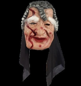 China LH-15 charming old lady mask on sale