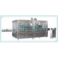 Glass Bottle Filling Line Carbonated Drink Glass Bottle Filling Monobloc