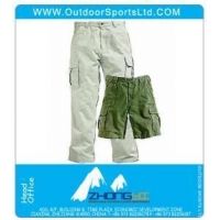 China Canvas Utility Cargo Pants and Work Shorts on sale