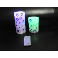 China Paraffin Wax Remote Control Flameless LED Candles SW-CA006 on sale