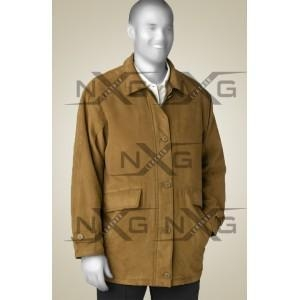 China Suede Leather Coat on sale