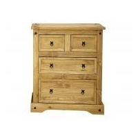 Corona 2 + 2 Chest of Drawers