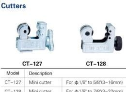 China Refrigeration copper tube pipe cutter CT127/CT128 on sale