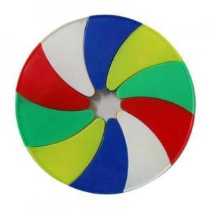 China Frisbee 10 Foldable Plastic Frisbee on sale