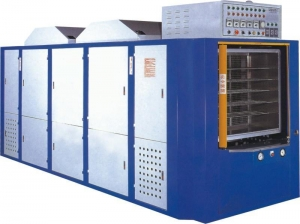 China TH-814.816.818 four boxes, six boxes, eight cabinet vacuum heating production vehicle on sale