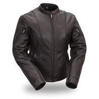 Women's Side Buckled Racer jacket FIL177CSLZ #FIL177CSLZ
