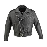 China Men's Basic Motorcycle Horsehide Jacket #HS5522H on sale