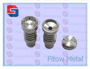 China universal domeless titanium nail with GR2 14mm/18m on sale