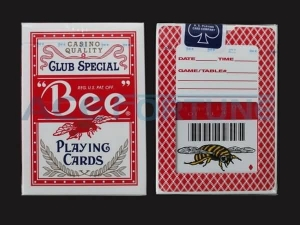 China America Big Bee Poker Card on sale