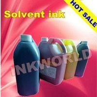 China Solvent ink for xaar 128,360/720 dpi printer head on sale